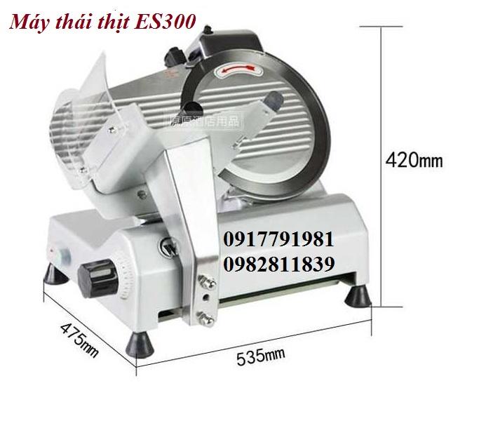 Máy thái thịt lát mỏng ES-300