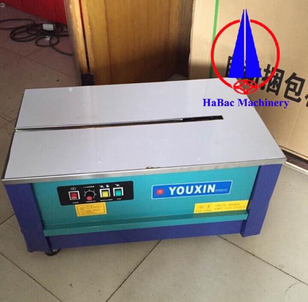 Máy đóng đai thùng Youxin dạng thấp, giá rẻ