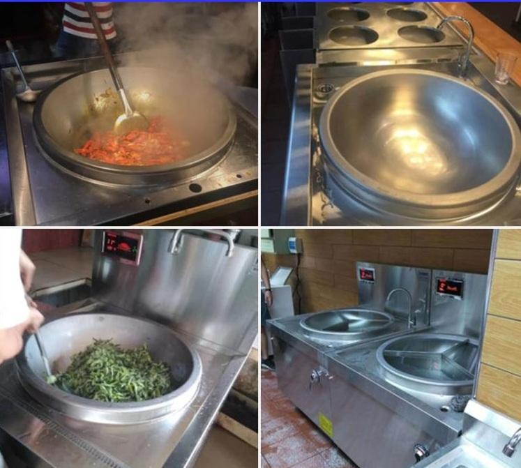 Bếp xào đôi có 2 bầu nước